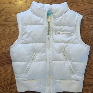Old Navy girls puffer vest size small